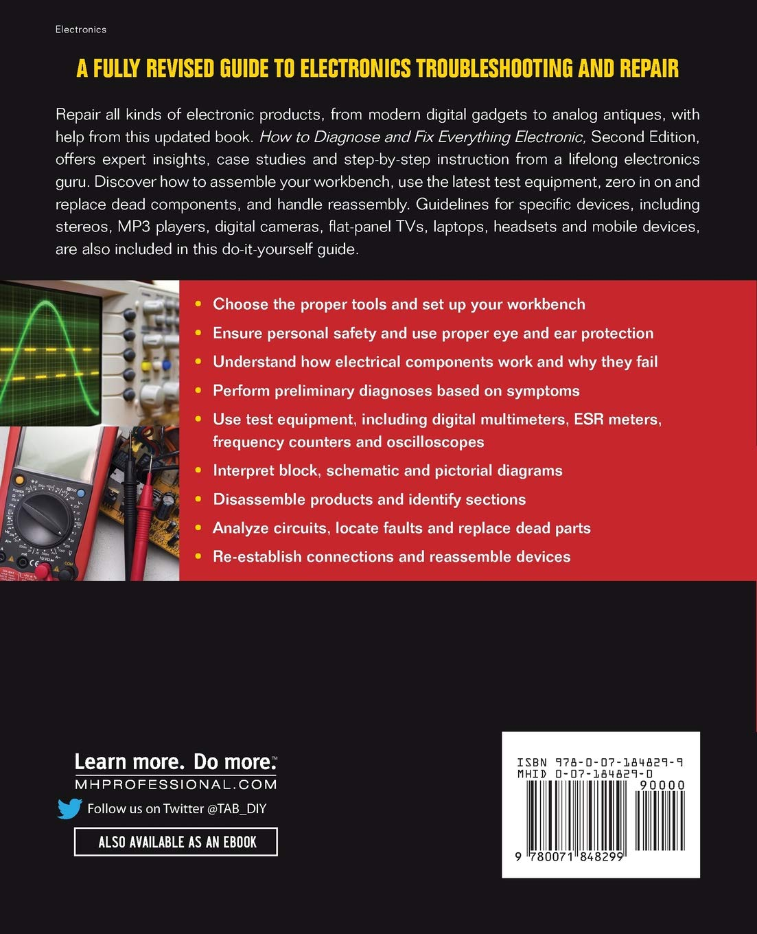 How To Diagnose And Fix Everything Electronic Second Edition Once Is Done The Circuit Properly On A Plastic Box Michael Geier 9780071848299 Books