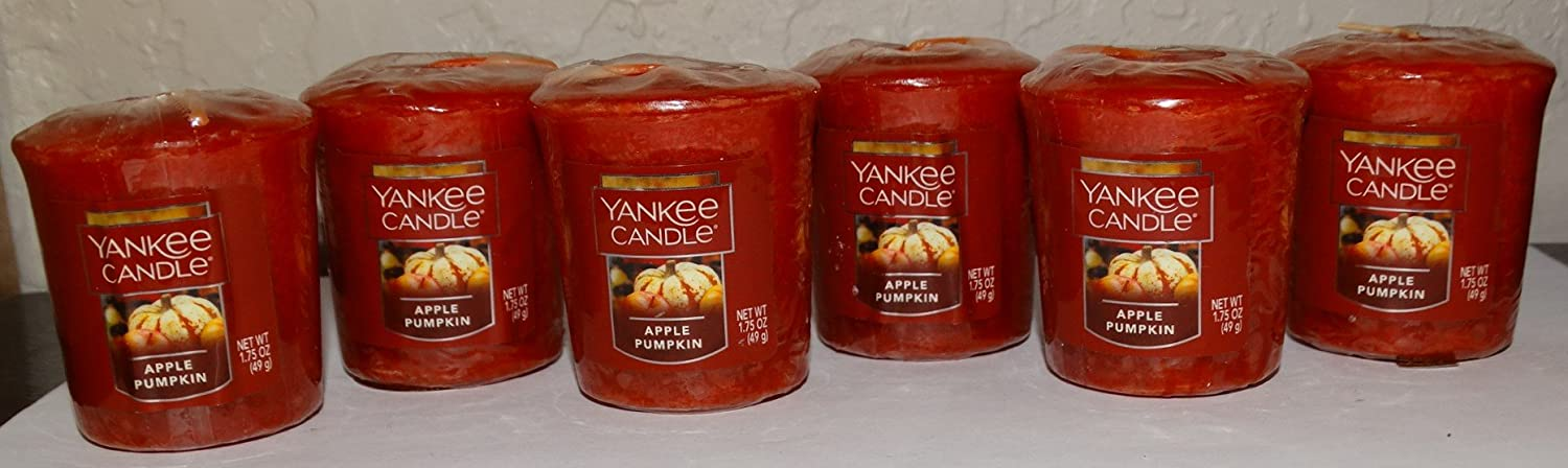 Yankee Candle Apple Pumpkin Votive (Pack of 6)