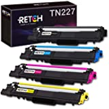 RETCH Compatible Toner Cartridge Replacement for TN227 TN-227 TN227BK TN223 TN-223 for MFC-L3770CDW MFC-L3750CDW MFC…