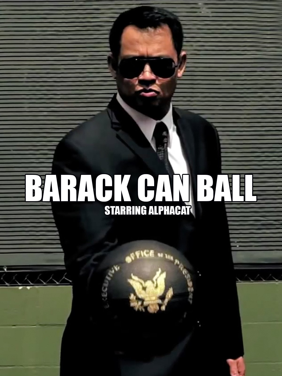 Barack Can Ball starring AlphaCat