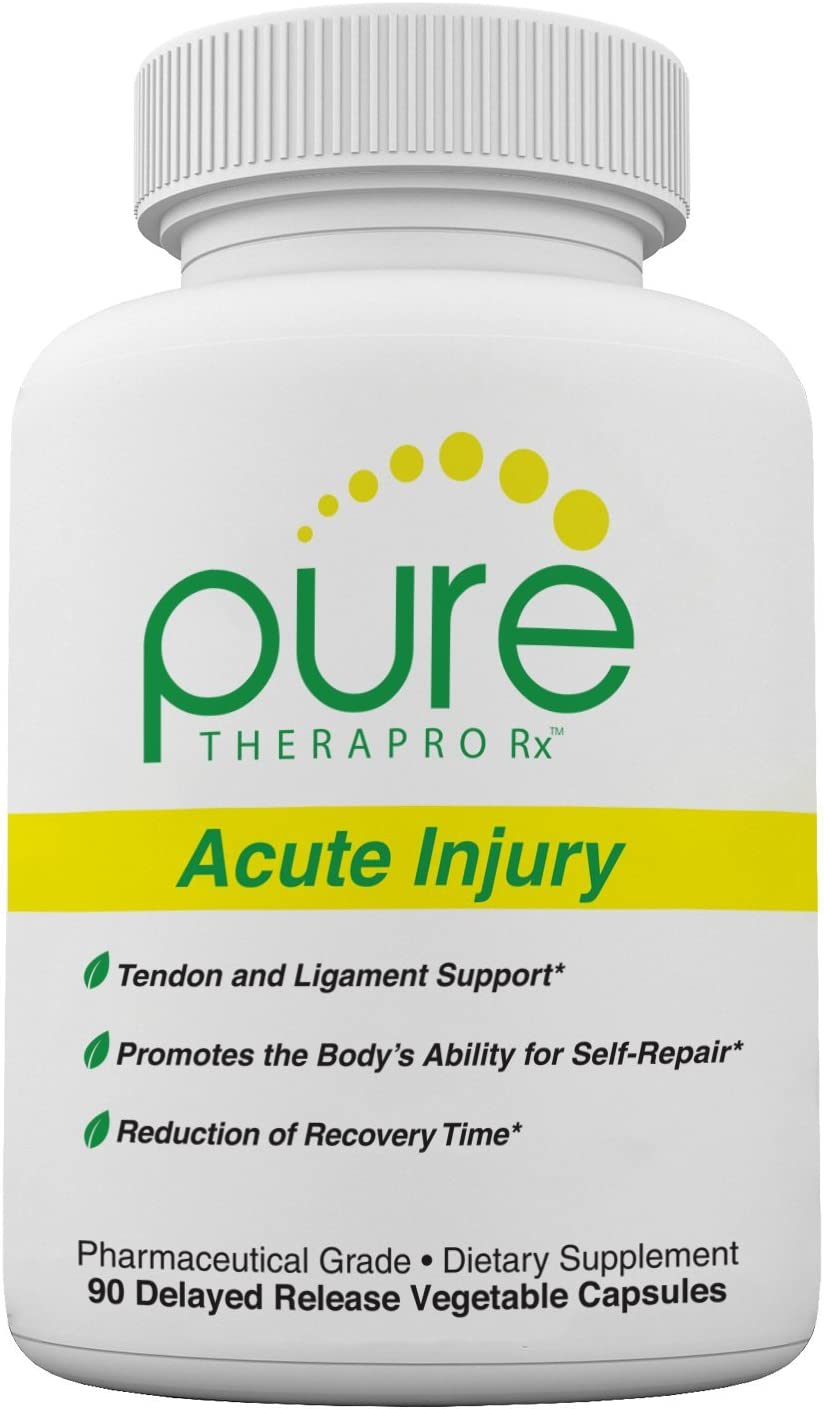 Acute Injury – Delayed Release Caps Tendon Ligament Support Convenient Once a Day Clinical Dose Boosts Tendon Health, Movement Physical Function Pharm 90 Capsules