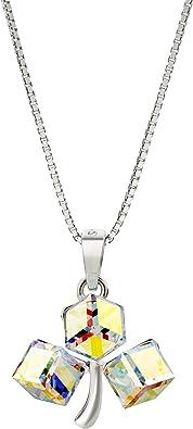 Cristal de Swarovski J./RENE/É Boucle doreille Femme amour infini Cadeau Femme Bijoux Femme