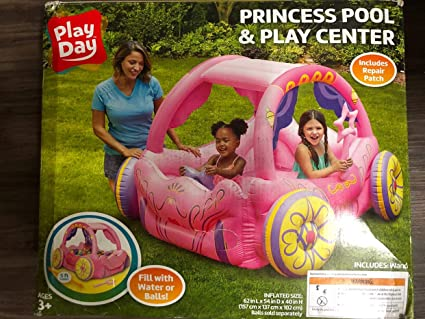 Amazon.com: Centro de juegos hinchable de Princesa para ...