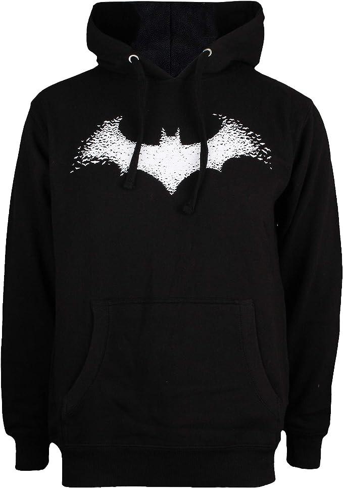 Batman Mens Bats in Logo Sweater
