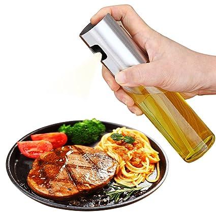 Dispensador de aceite de aceite de oliva Dispensador de aceite Dispensador de aceite Botella de spray