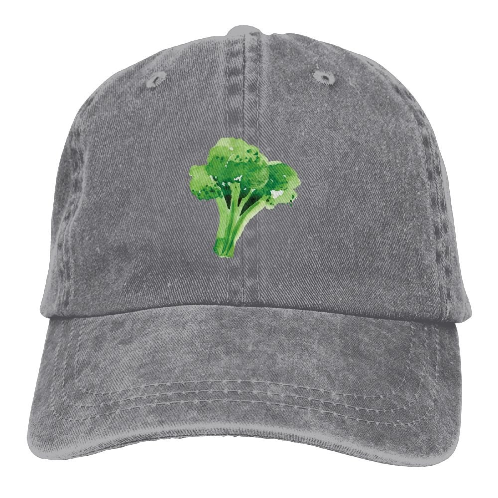 SUNHATS Broccoli Men Cowboy Cats Cowboy Hats Sun Hats