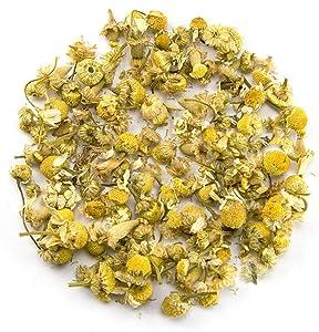 Chamomile Flowers - 100% Natural - 1 lb (16oz) - EarthWise Aromatics