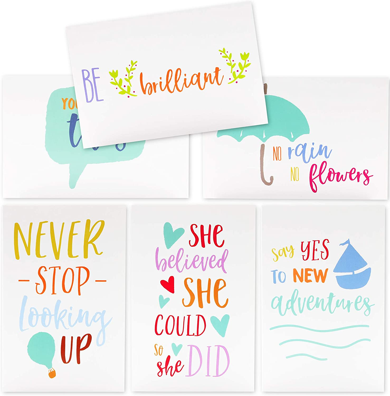 Set of five unique birthday cards that count-up to a boys or girls 5th birthday Send one a day or all at once!
