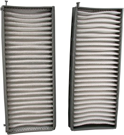 ECOGARD XC35675C Premium Cabin Air Filter with Activated Carbon Odor Eliminator Fits Hyundai Santa Fe 2004-2006 XG350 2004-2005 Sonata 2003-2005
