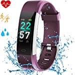 Airpro Fitness Tracker, Activity Tracker Watch with Heart Rate Monitor,IP68 Waterproof