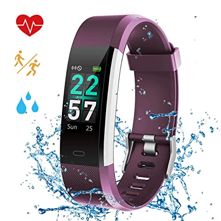 Airpro Fitness Tracker Watches for Women Waterproof IP68 Swimming Activity with Heart Rate Sleep Monitor Pedometer Steps GPS Running Tracking Calorie Counter Messager Sport Smart Band Men Kids