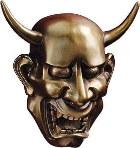 Design Toscano CL6296 Noh Hannya Demon Mask: Wall Sculptures,Multicolored