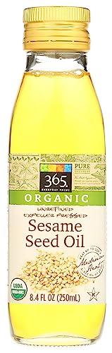 365 Everyday Value Organic Sesame Seed Oil