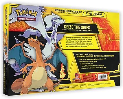 Pokemon Reshiram et glurak-GX collection personnages Collection Box # neuve neuf dans sa boîte #