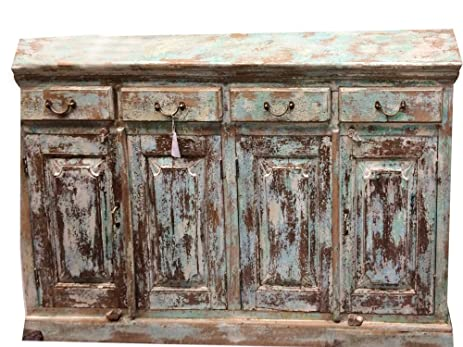19th Century China Trade Anglo Indian Chest Of Drawers