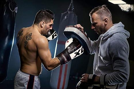 Men/'s Leather Guantoni Da Boxe disponibile in taglia 10 OZ 12 0z