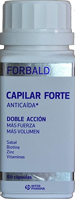 Amazon.com: Forbald Hair Forte 60 Caps - Beauty & Personal Care ...