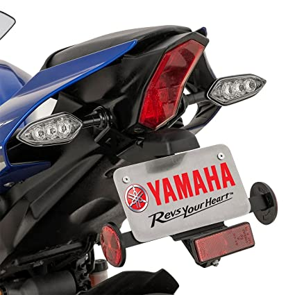 Amazon Com Genuine Yamaha Yzf R1 2015 2019 License Plate Tag