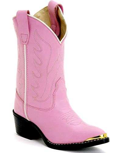 Amazon.com | Old West Girls' Cowgirl Boot | Boots
