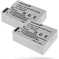 Fosmon 2 Packs Extended Life Replacement Battery Pack for Canon LP-E8 (7.4V / 1500 mAh) Compatible with Canon EOS 700D / 550D / 600D / 650D, Rebel T2i / T3i / T4i / T5i, Kiss X5 / EOS Kiss X6i - Fosmon Retail Packaging