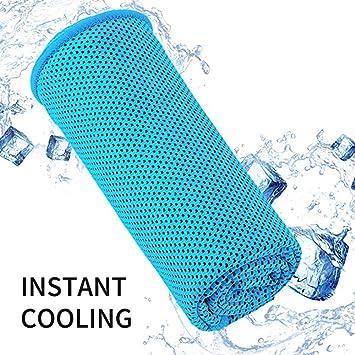 Kyansin Kühlung Handtuch Eis Handtuch Cool Sport Handtuch