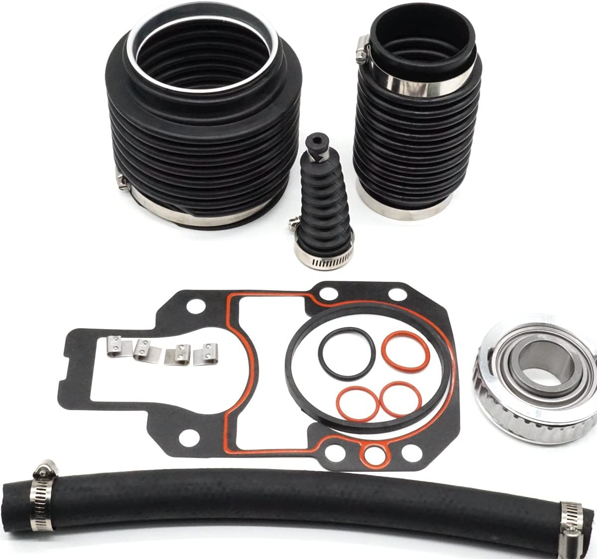 UANOFCN Stern Drive Transom Seal Repair Kit 803099T1 - for MerCruiser Alpha One, Gen II Stern Drives with Exhaust Bellows