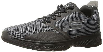 more photos 1f247 8e0a0 Skechers Performance Men s Go 4-54169 Walking Shoe,Black Gray,7.5 M