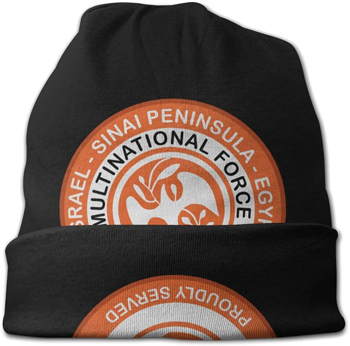 JINGUImao Multinational Force and Observers-MFO Unisex Warm Hat Knit Hat Skull Cap Beanies Cap