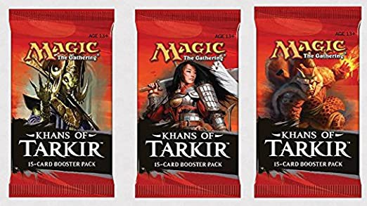 Magic The Gathering 6 (Six) Packs of MTG: Khans of Tarkir Booster Pack Lot (6 Packs): Amazon.es: Juguetes y juegos