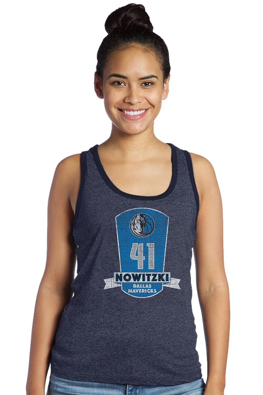 Majestic Athletic NBA Womens Premium Triblend Contrast Tank Top
