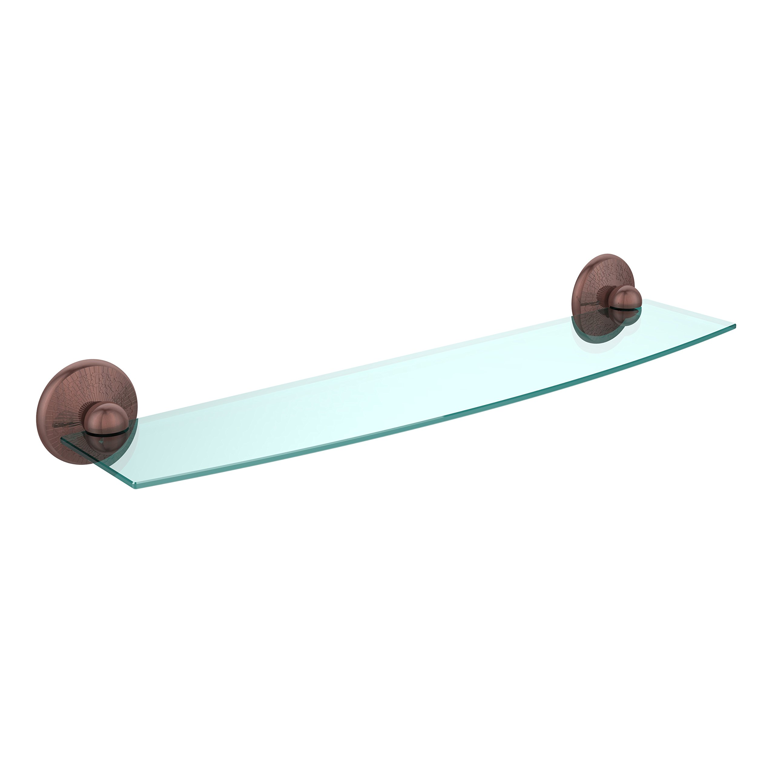 Allied Brass PMC-33/24-SCH 24'' Glass Shelf Venetian Bronze
