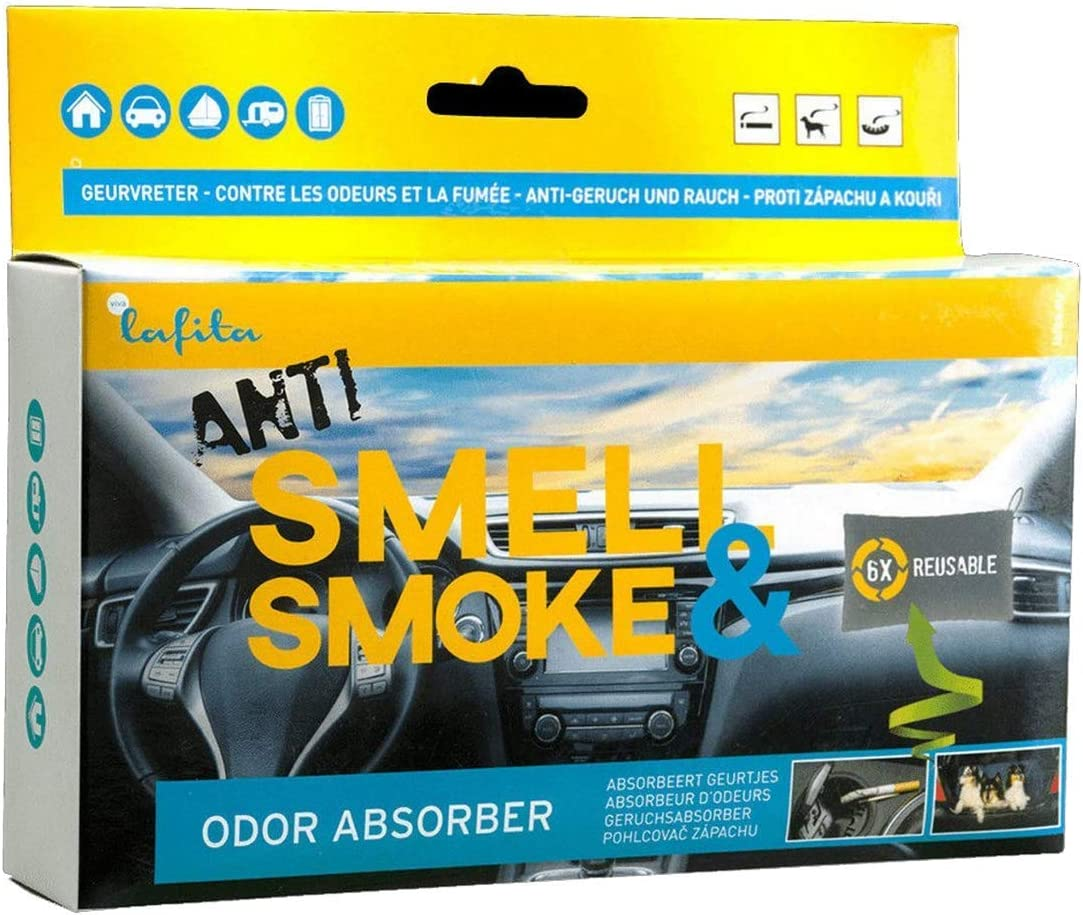 Lafita Anti Smoke Auto Lufterfrischer Geruchsneutralisator 400g Kfz Raum Duft Drogerie Körperpflege