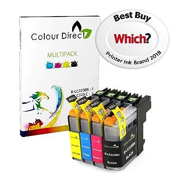 Colour Direct 4 LC223 Tinta Compatible Cartuchos por Brother DCP ...