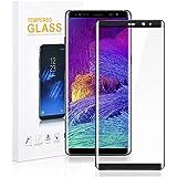 Galaxy Note 8 ガラスフィルム 液晶保護フィルム 強化ガラス 気泡ゼロ 高透過率 超薄型 硬度9H 3Dラウンドエッジ 全面保護 簡単に貼り付ける Hokonui (Samsung Galaxy Note 8)