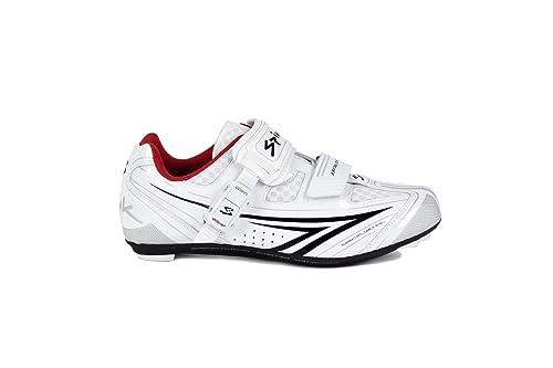 Spiuk Zbrios01, Zapatilla Unisex, Blanco/Negro, 49 EU: Amazon.es: Zapatos y complementos