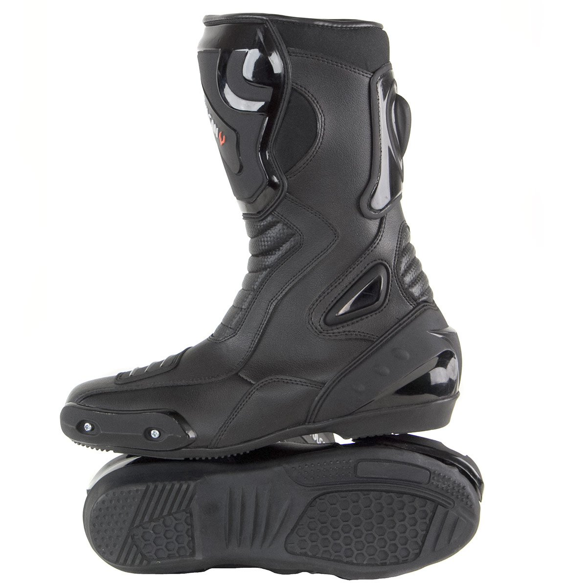 Vulcan V300 Mens Velocity Motorcycle Sport Boots - 11 by Vulcan (Image #5)