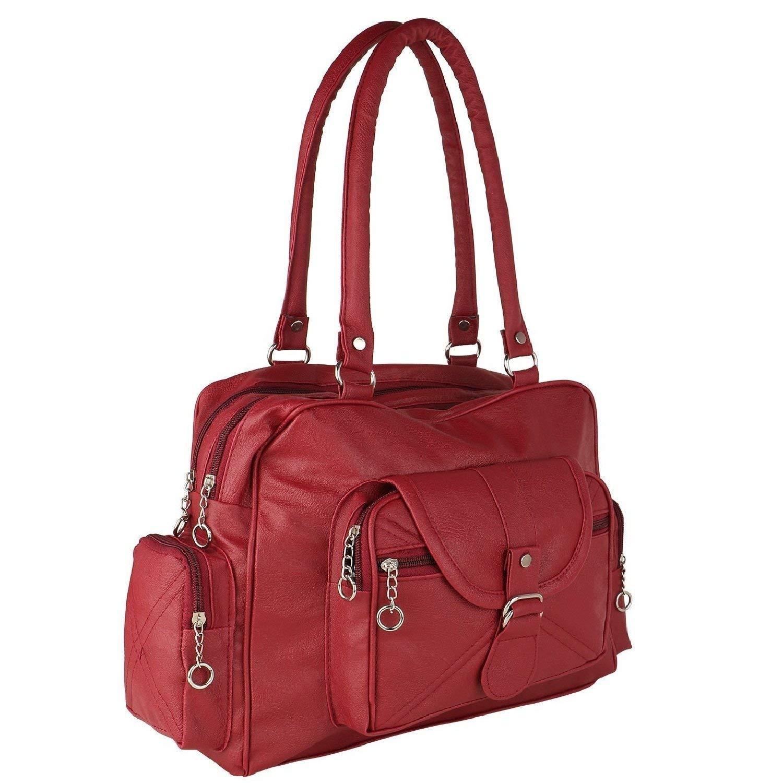 0bb3f72508eb Bizarre Vogue Women s Stylish Handbag (Maroon