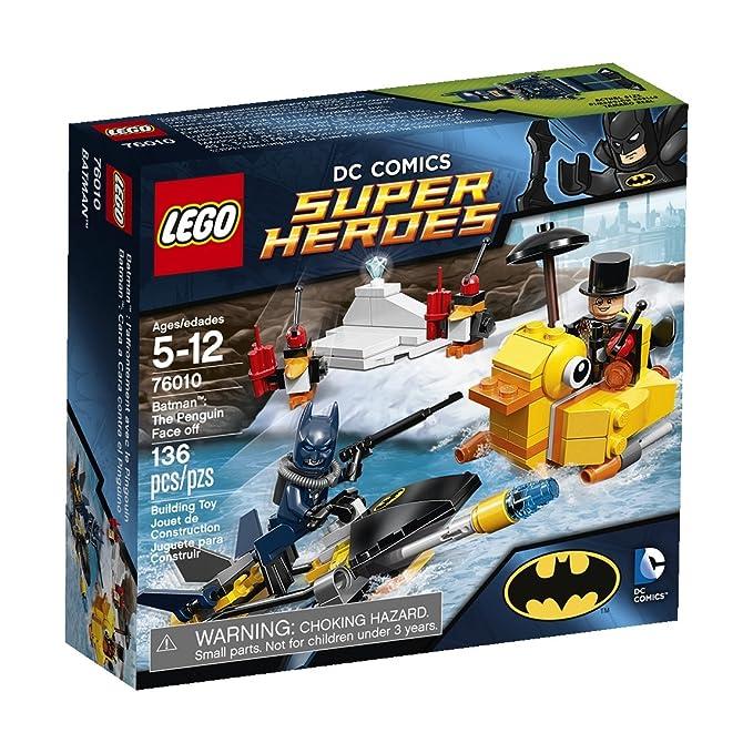Amazoncom Lego Dc Superheroes Batman The Penguin Face Off