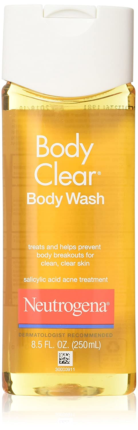 Neutrogena Body Clear Body Wash for Clean and Clear Skin - 8.5 Oz (Pack of 5)