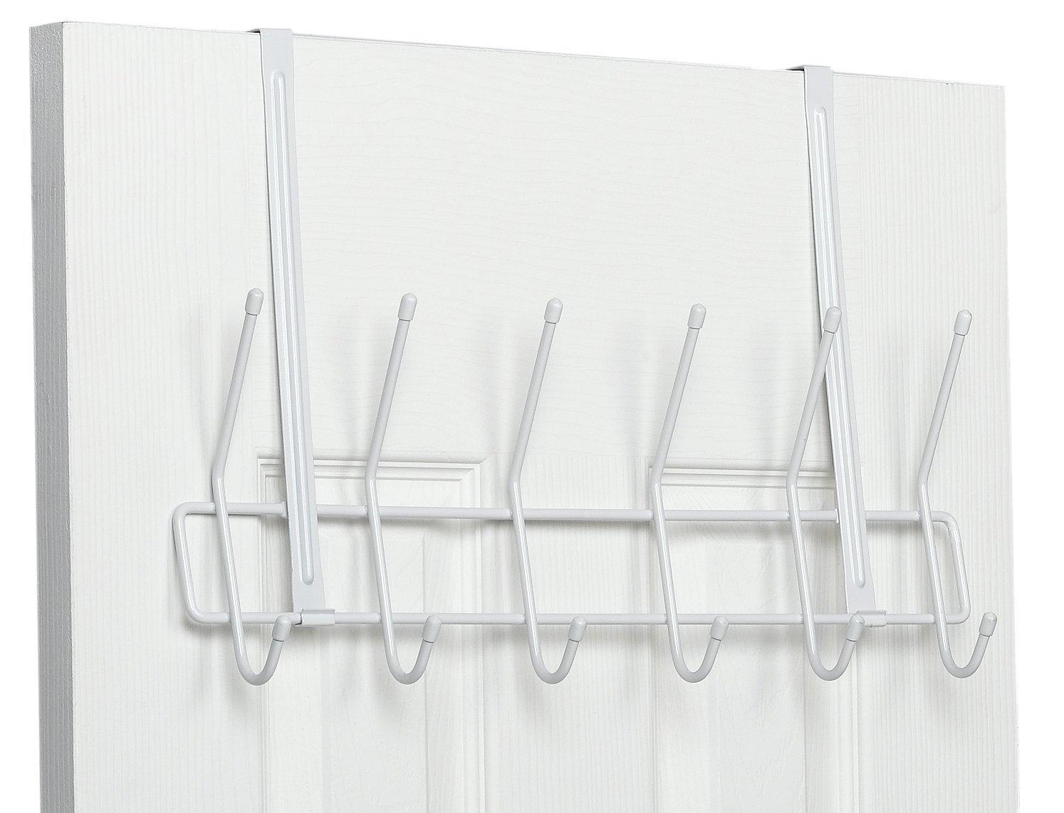 Amazon.com: ClosetMaid 1220 Over The Door Utility Hook, White: Home U0026  Kitchen