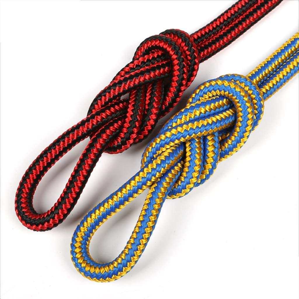 LIINA ロープ 11.5mmの安全ロープポリエステルの柔らかい靭帯の耐久力のある安全および環境保護の高力張力に2色があります (Color : B, Size : 30m) B 30m