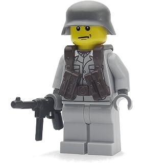 Custom Mütze für LEGO® Minifiguren WW1 Deutsche Pickelhaube von BrickArms