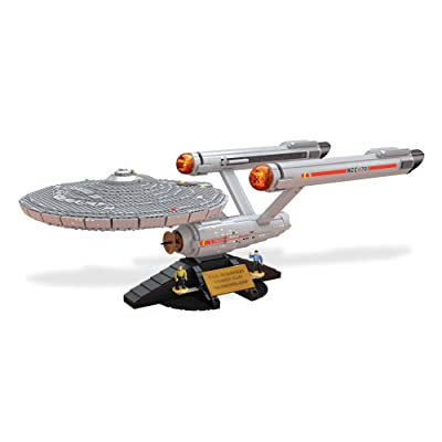 Mega Bloks Star Trek U.S.S. Enterprise NCC-1701 Collector Construction Set: Toys & Games