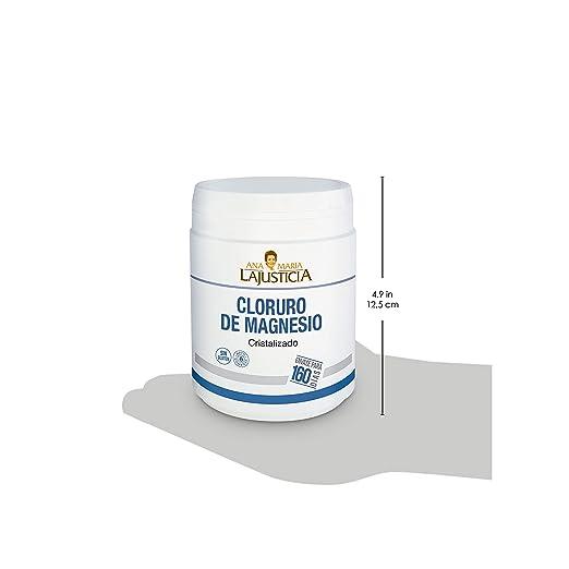 Ana Maria Lajusticia - Cloruro de magnesio – 400 gr. Disminuye el cansancio y la fatiga, mejora el funcionamiento del sistema nervioso. Apto para ...