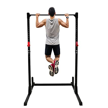 66205f97722 F2C Adjustable Height Power Squat Rack Cage Stand System Strength Deadlift Power  Lifting Weightlifting Rack W