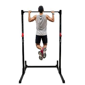 F2 C Potencia de altura ajustable de musculación jaula soporte ...