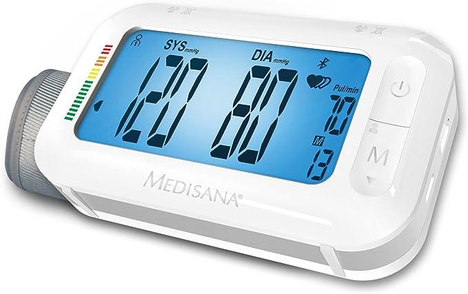 Medisana BU 575 51296, Tensiómetro de Brazo, Función Despertador, Memoria 2 x 180, Pantalla LCD, Indicador OMS, Indicador arritmias, Función Snooze: Amazon.es: Salud y cuidado personal