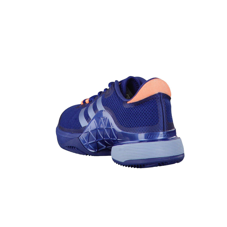 adidas Zapatillas Barricade Azul Naranja: Amazon.es: Deportes y ...
