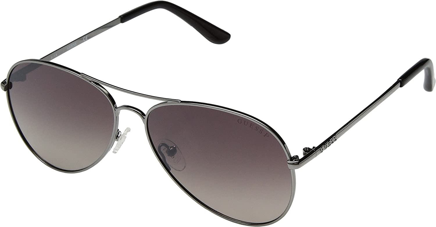 GUESS Unisex Adults' GU6925 08H 58 Sunglasses, Grey (Antracite Luc/Marrone Polar) GU6925A