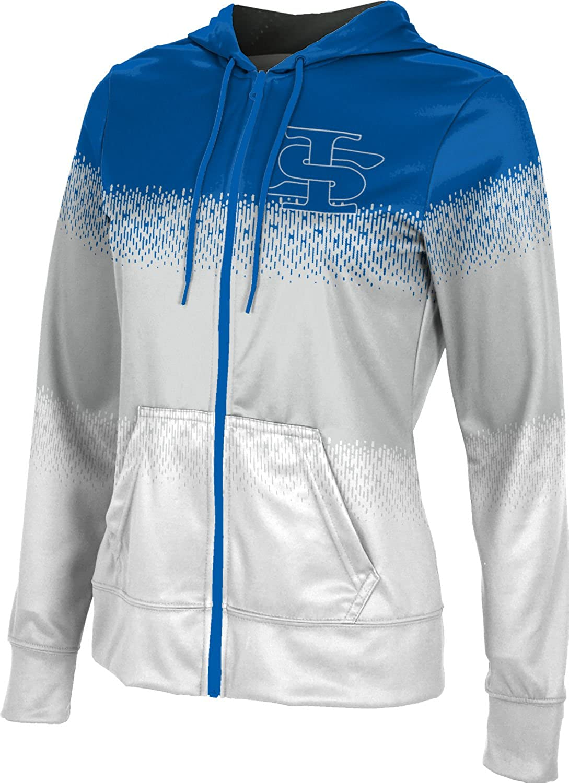 Drip ProSphere Indiana State University Girls Zipper Hoodie School Spirit Sweatshirt